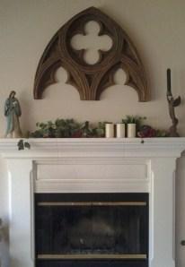 fireplace - close-up